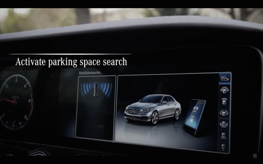 VIDEO: W213 Mercedes E-Class Remote Parking Pilot Image #456621