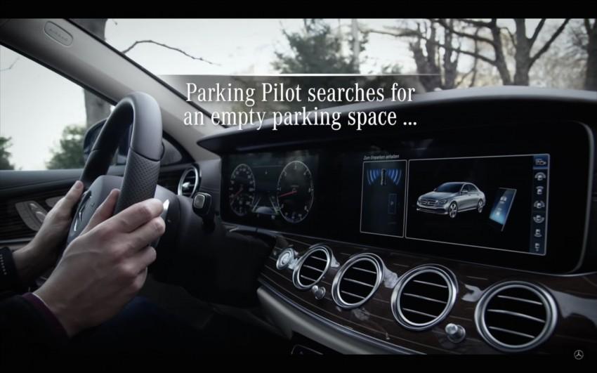 VIDEO: W213 Mercedes E-Class Remote Parking Pilot Image #456622