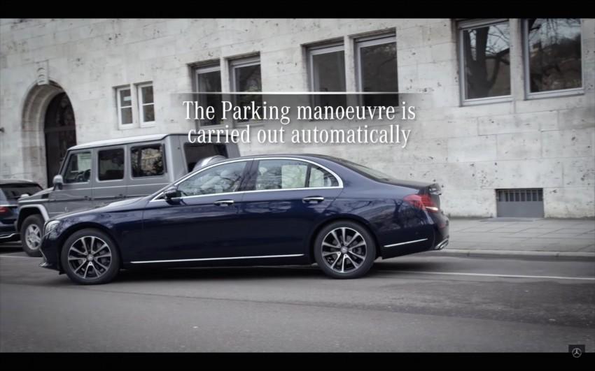 VIDEO: W213 Mercedes E-Class Remote Parking Pilot Image #456625