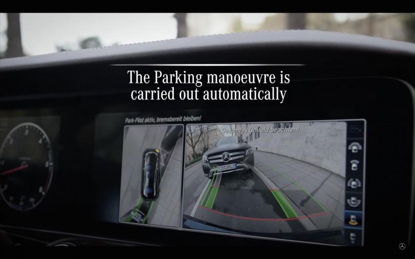 VIDEO: W213 Mercedes E-Class Remote Parking Pilot Image #456626