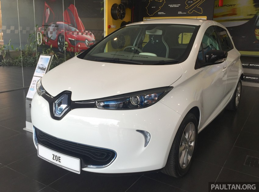 Renault Zoe electric vehicle now available in Malaysia from RM146k – 210 km range, 87 hp and 220 Nm Image #456999