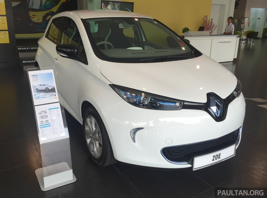 Renault Zoe electric vehicle now available in Malaysia from RM146k – 210 km range, 87 hp and 220 Nm Image #457000