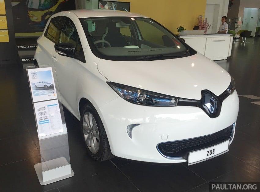 Renault Zoe janaan elektrik sepenuhnya kini di bilik pameran Renault dengan harga bermula RM145,888 Image #457283