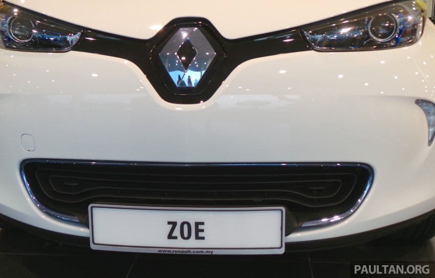 Renault Zoe electric vehicle now available in Malaysia from RM146k – 210 km range, 87 hp and 220 Nm Image #457002
