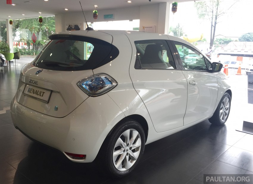 Renault Zoe electric vehicle now available in Malaysia from RM146k – 210 km range, 87 hp and 220 Nm Image #457003