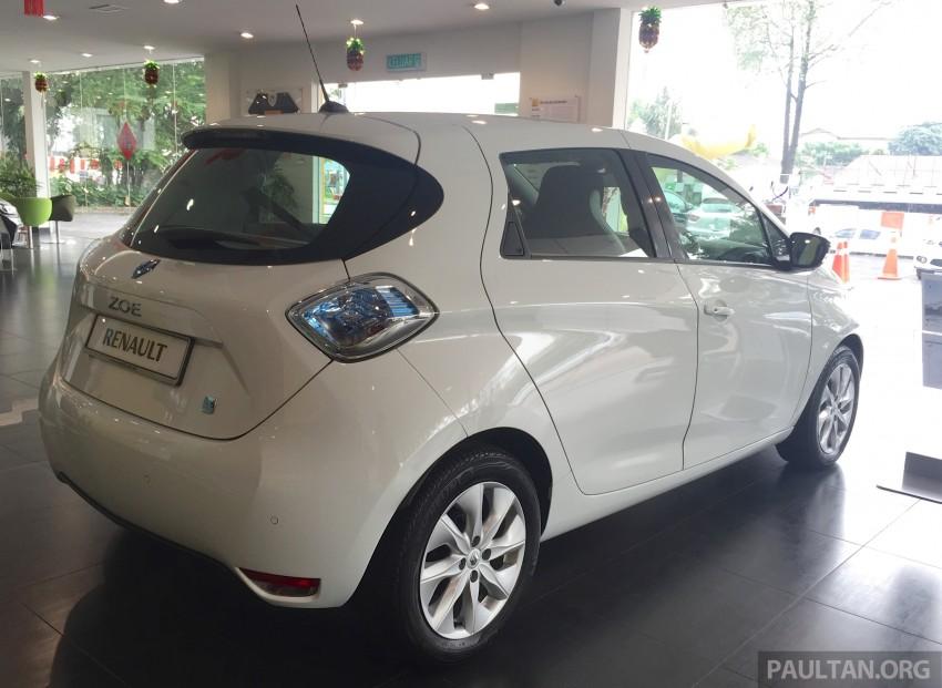 Renault Zoe janaan elektrik sepenuhnya kini di bilik pameran Renault dengan harga bermula RM145,888 Image #457281