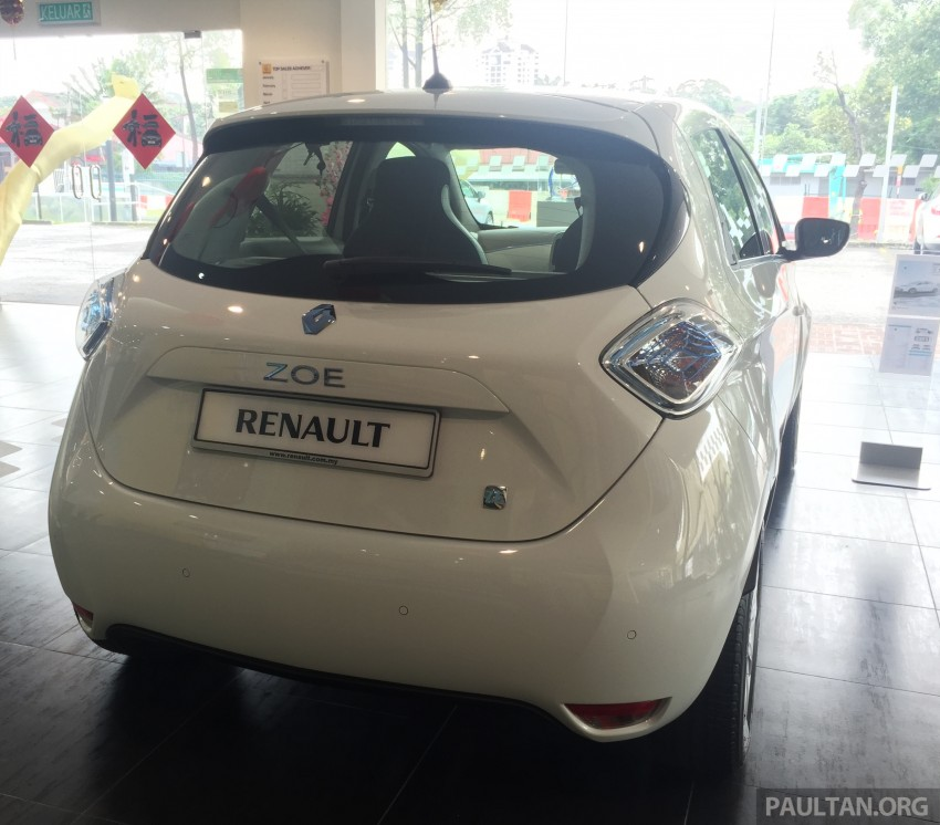 Renault Zoe electric vehicle now available in Malaysia from RM146k – 210 km range, 87 hp and 220 Nm Image #457004