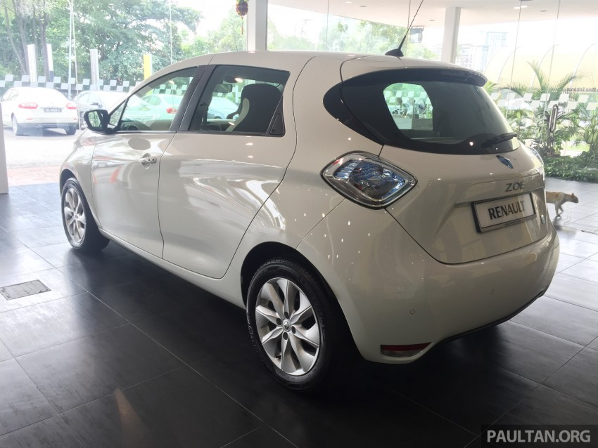 Renault Zoe electric vehicle now available in Malaysia from RM146k – 210 km range, 87 hp and 220 Nm Image #457005