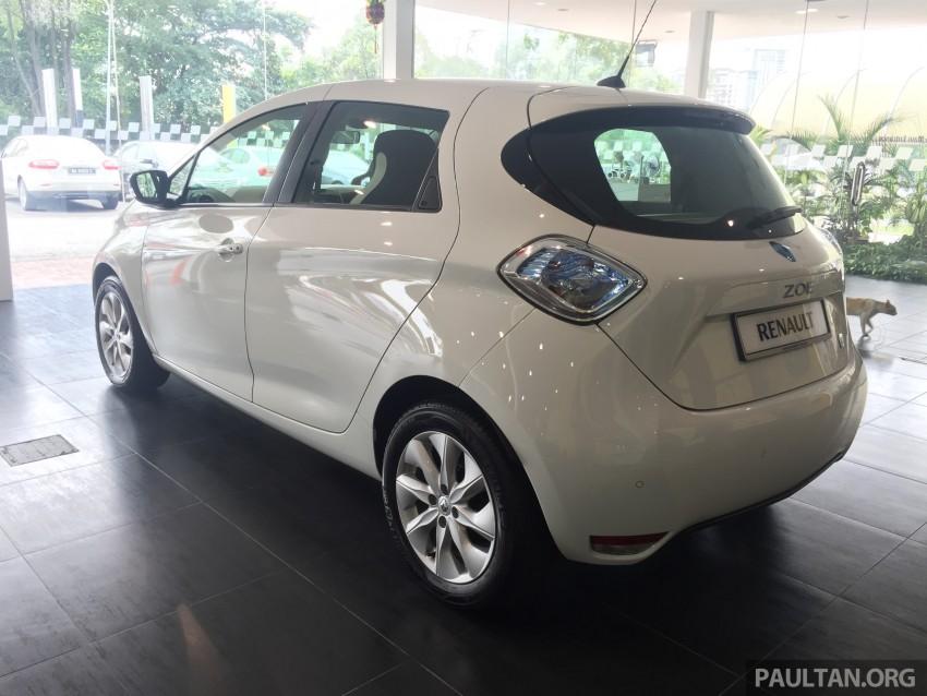 Renault Zoe janaan elektrik sepenuhnya kini di bilik pameran Renault dengan harga bermula RM145,888 Image #457279