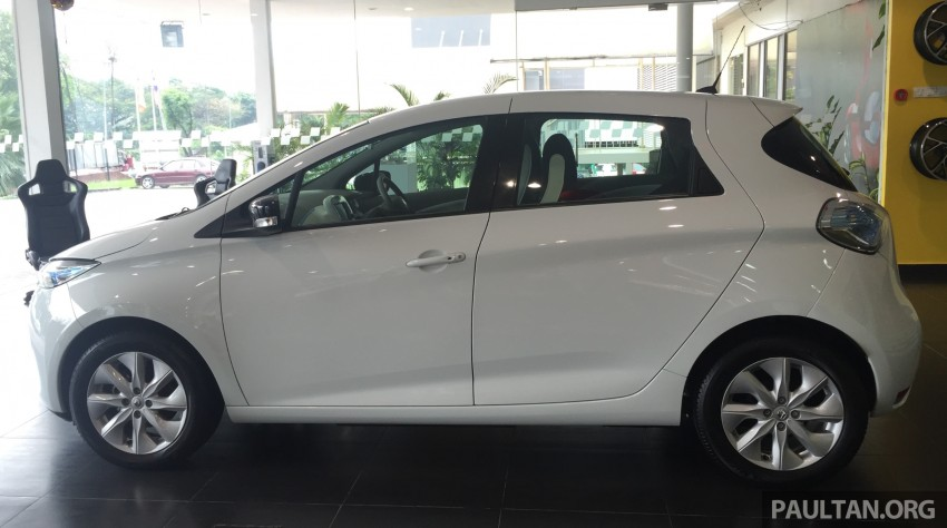 Renault Zoe electric vehicle now available in Malaysia from RM146k – 210 km range, 87 hp and 220 Nm Image #457007