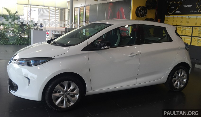 Renault Zoe electric vehicle now available in Malaysia from RM146k – 210 km range, 87 hp and 220 Nm Image #457008