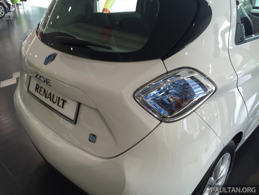 Renault Zoe electric vehicle now available in Malaysia from RM146k – 210 km range, 87 hp and 220 Nm Image #457009