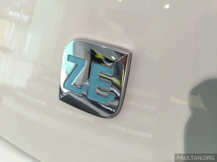 Renault Zoe electric vehicle now available in Malaysia from RM146k – 210 km range, 87 hp and 220 Nm Image #457014