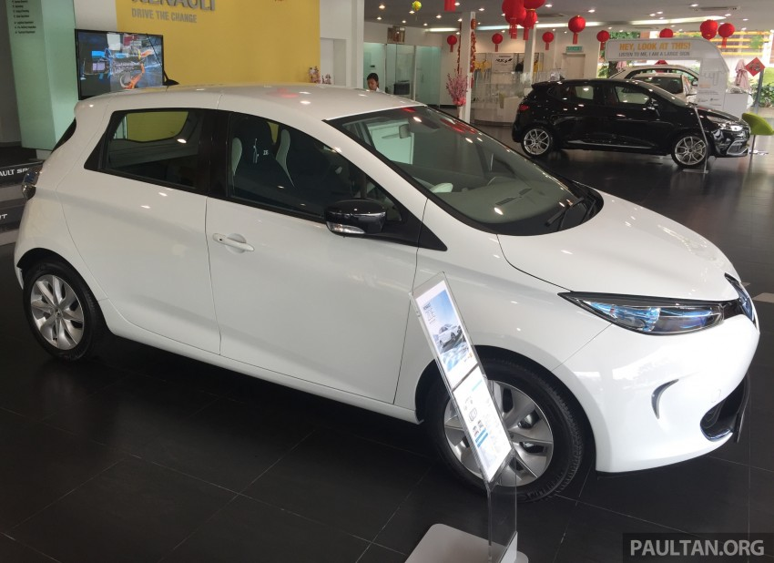 Renault Zoe electric vehicle now available in Malaysia from RM146k – 210 km range, 87 hp and 220 Nm Image #457015