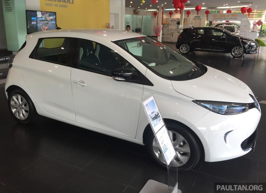 Renault Zoe janaan elektrik sepenuhnya kini di bilik pameran Renault dengan harga bermula RM145,888 Image #457269