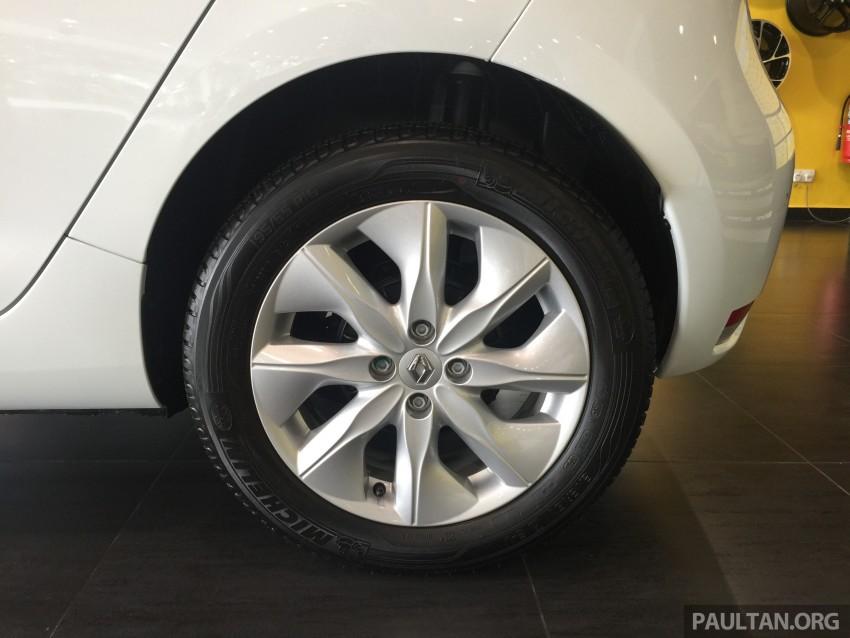 Renault Zoe janaan elektrik sepenuhnya kini di bilik pameran Renault dengan harga bermula RM145,888 Image #457267