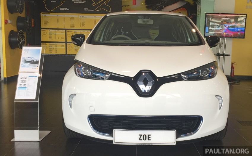 Renault Zoe electric vehicle now available in Malaysia from RM146k – 210 km range, 87 hp and 220 Nm Image #457020
