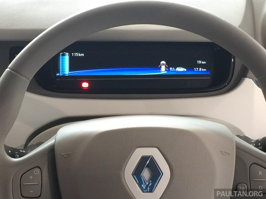 Renault Zoe electric vehicle now available in Malaysia from RM146k – 210 km range, 87 hp and 220 Nm Image #457029