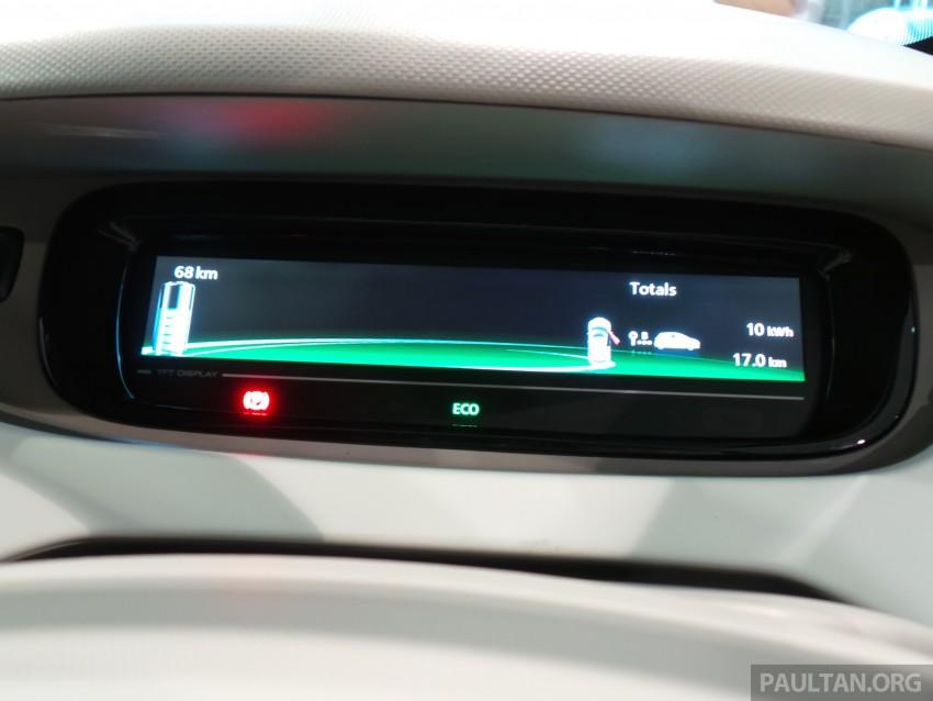 Renault Zoe janaan elektrik sepenuhnya kini di bilik pameran Renault dengan harga bermula RM145,888 Image #457254