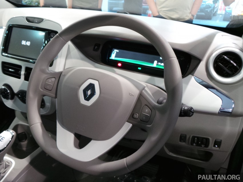 Renault Zoe electric vehicle now available in Malaysia from RM146k – 210 km range, 87 hp and 220 Nm Image #457031