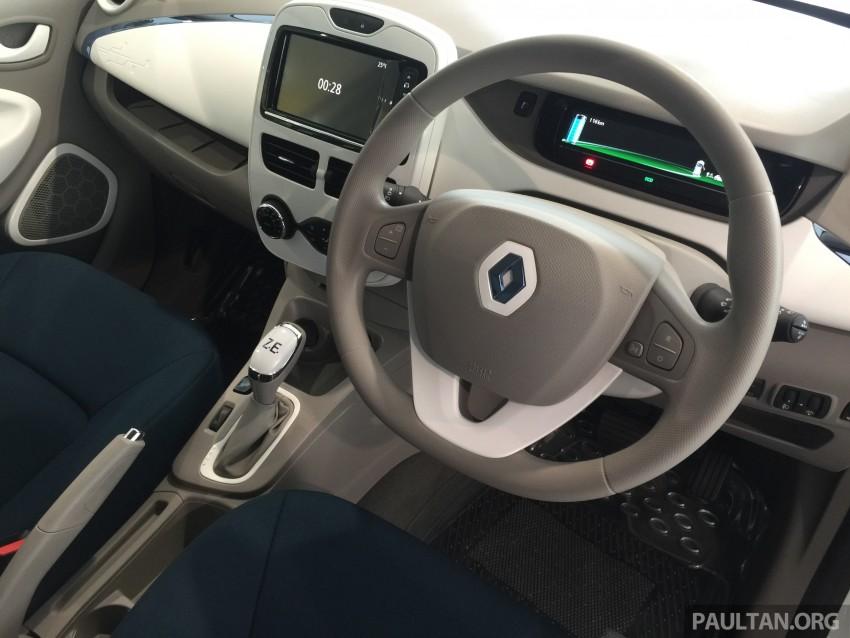 Renault Zoe janaan elektrik sepenuhnya kini di bilik pameran Renault dengan harga bermula RM145,888 Image #457286