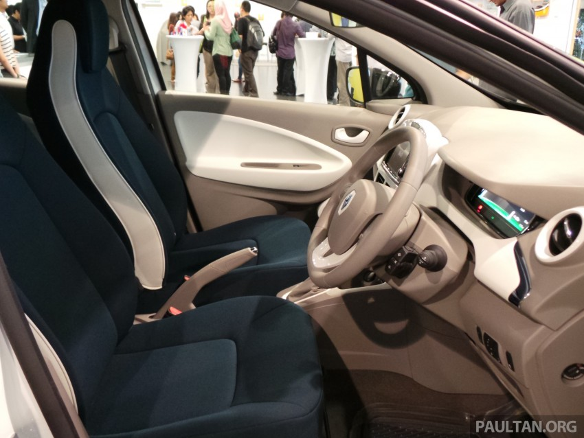 Renault Zoe electric vehicle now available in Malaysia from RM146k – 210 km range, 87 hp and 220 Nm Image #457040