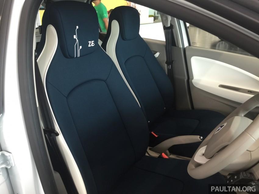 Renault Zoe janaan elektrik sepenuhnya kini di bilik pameran Renault dengan harga bermula RM145,888 Image #457287