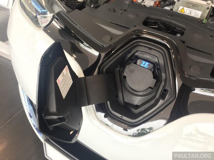 Renault Zoe janaan elektrik sepenuhnya kini di bilik pameran Renault dengan harga bermula RM145,888 Image #457229