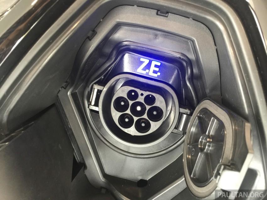 Renault Zoe janaan elektrik sepenuhnya kini di bilik pameran Renault dengan harga bermula RM145,888 Image #457228