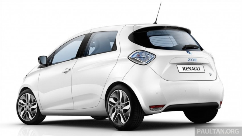 Renault Zoe electric vehicle now available in Malaysia from RM146k – 210 km range, 87 hp and 220 Nm Image #457069
