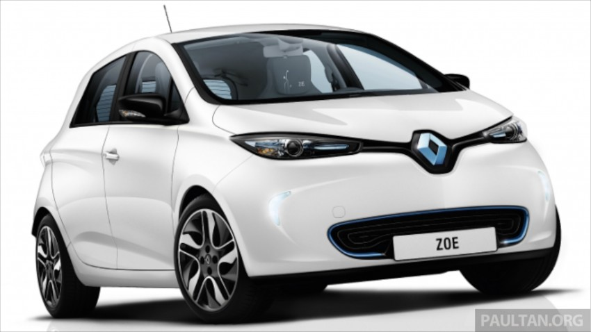 Renault Zoe electric vehicle now available in Malaysia from RM146k – 210 km range, 87 hp and 220 Nm Image #457071
