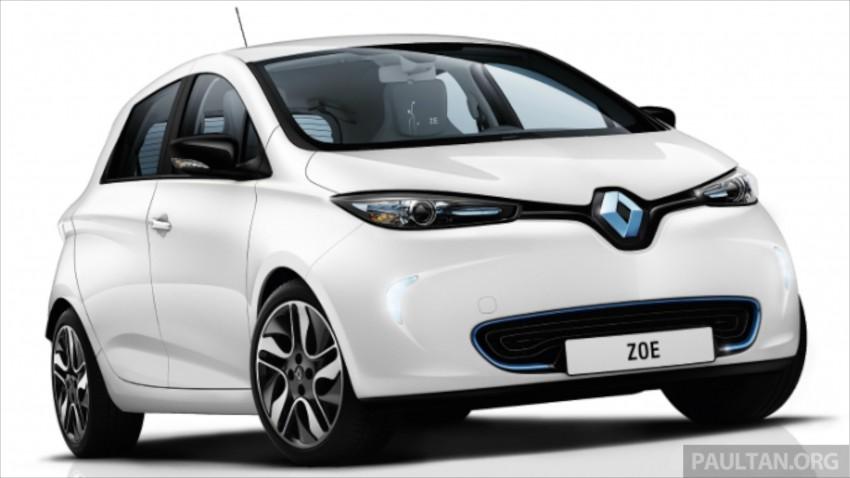Renault Zoe janaan elektrik sepenuhnya kini di bilik pameran Renault dengan harga bermula RM145,888 Image #457214