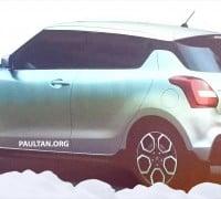 Suzuki Swift leak 2