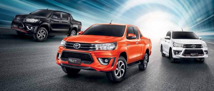 Toyota Hilux TRD Sportivo baharu lebih sporty diperkenalkan di Bangkok Motor Show 2016 Image #464415
