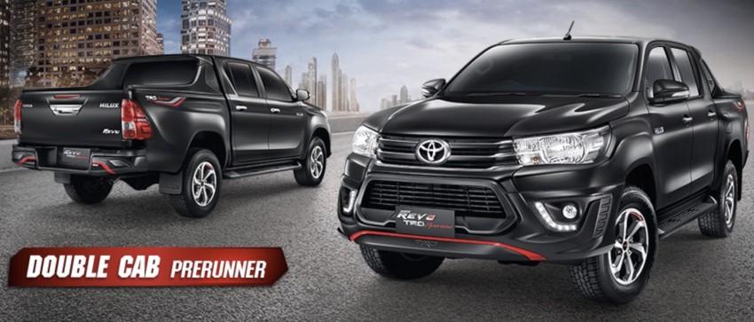 Toyota Hilux TRD Sportivo baharu lebih sporty diperkenalkan di Bangkok Motor Show 2016 Image #464417