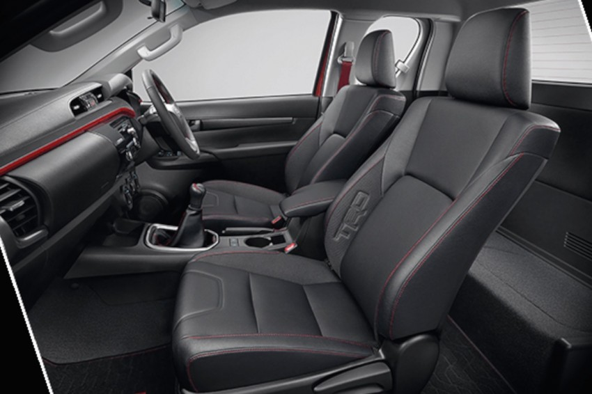 Toyota Hilux TRD Sportivo baharu lebih sporty diperkenalkan di Bangkok Motor Show 2016 Image #464440