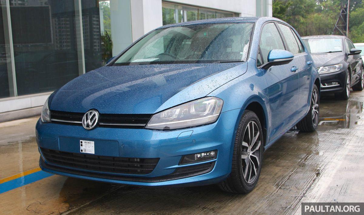 Volkswagen Golf 1 4 TSI gets new kit - from RM149k