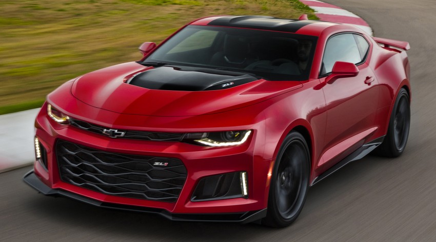 Chevrolet Camaro ZL1 – 640 hp, 868 Nm, 10-spd auto Image #461398