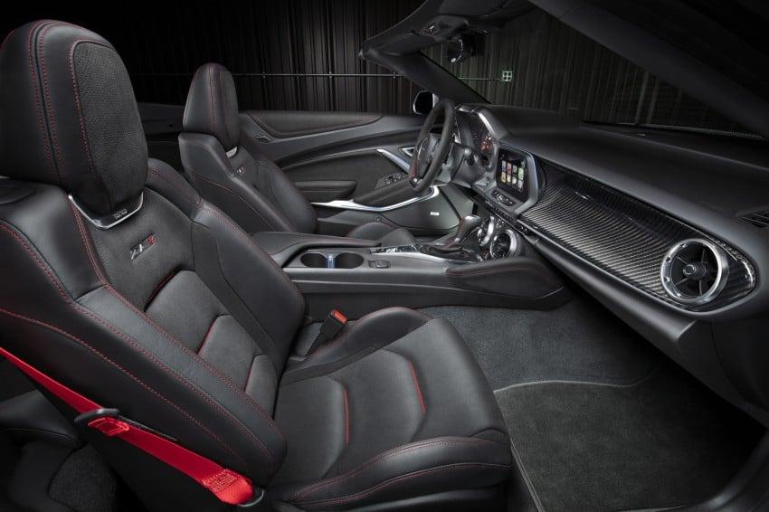 Chevrolet Camaro ZL1 Convertible debuts in New York Image #467013