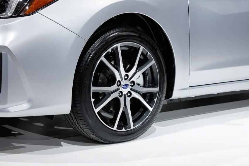 2017 Subaru Impreza sedan and hatch go live in NY Image #465846
