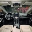 2017 Subaru Impreza five-door hatchback 11