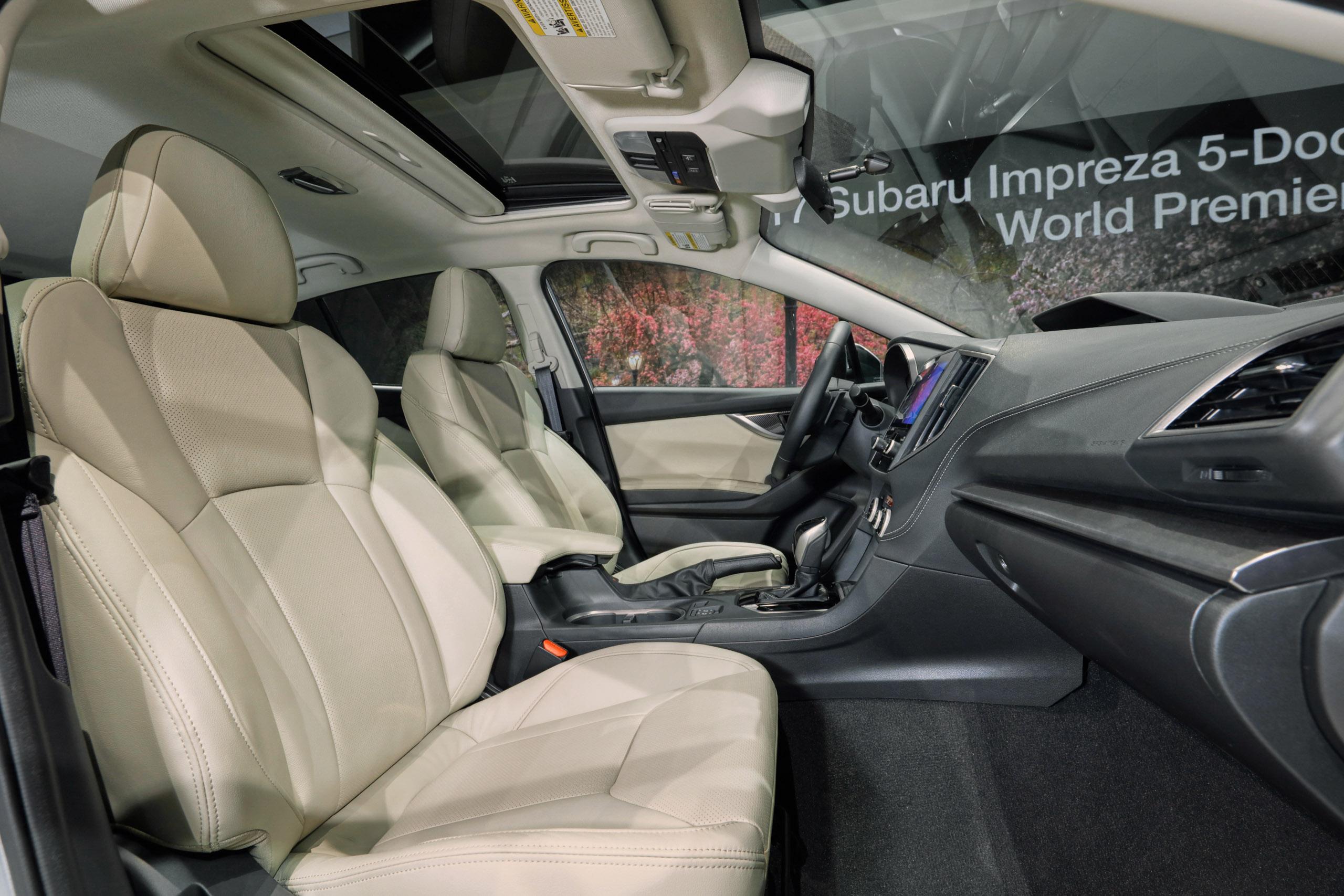 2017 Subaru Impreza sedan and hatch go live in NY Image 465849