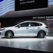 2017 Subaru Impreza five-door hatchback 3