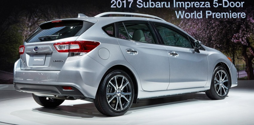 2017 Subaru Impreza sedan and hatch go live in NY Image #465840