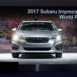 2017 Subaru Impreza five-door hatchback 5