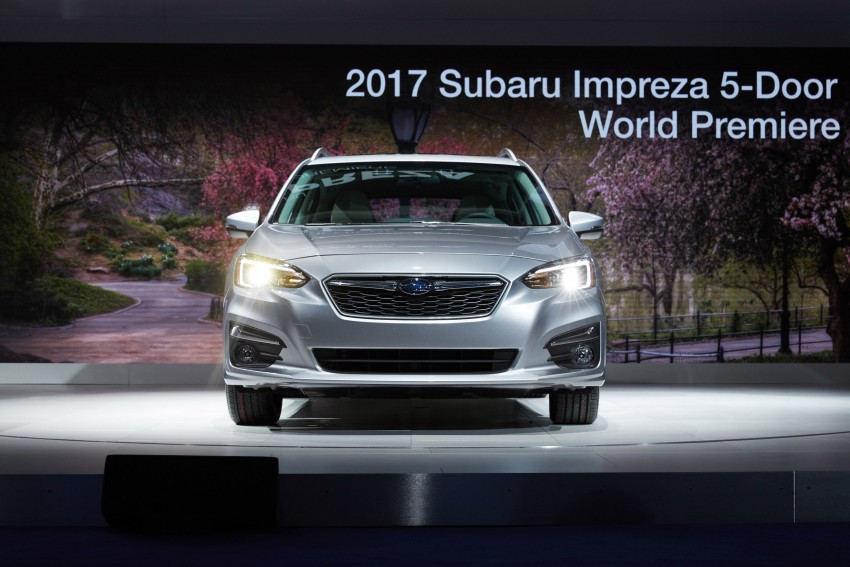 2017 Subaru Impreza sedan and hatch go live in NY Image #465841