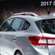 2017 Subaru Impreza five-door hatchback 8