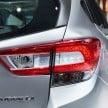 2017 Subaru Impreza five-door hatchback 9