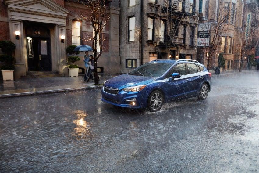 2017 Subaru Impreza sedan and hatch go live in NY Image #465862