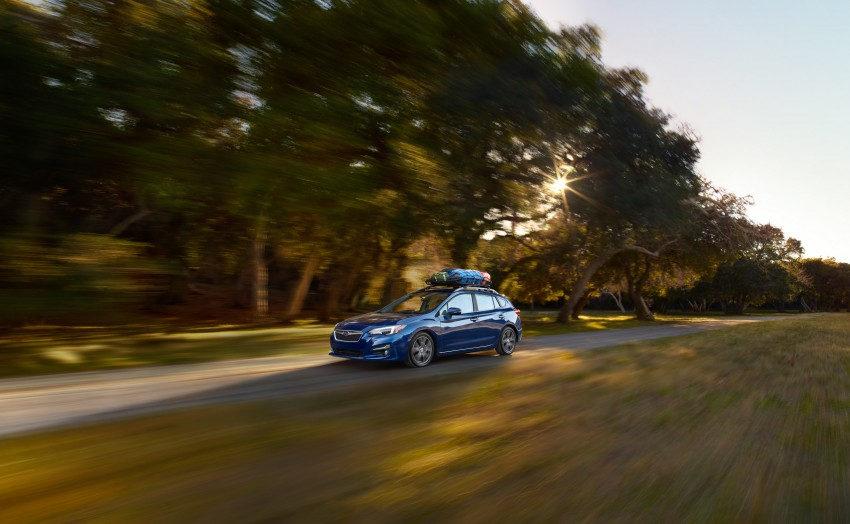 2017 Subaru Impreza sedan and hatch go live in NY Image #465863
